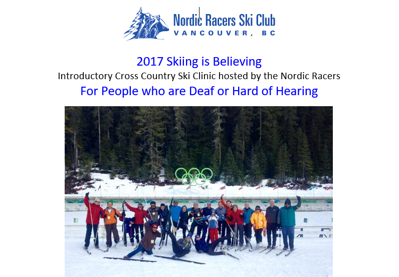 Skiing is believing